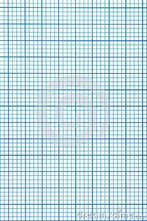 Checkered paper sheet