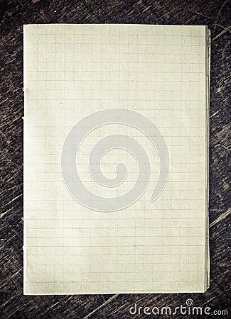 Checkered Papier