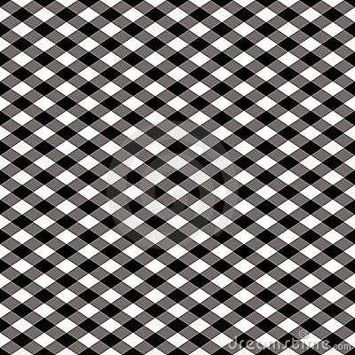 Checkered Pattern_Black and White