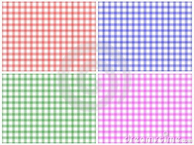 Checkered Pattern Set