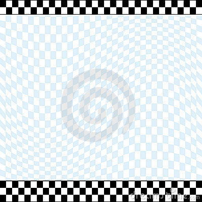 Checkered racing theme background