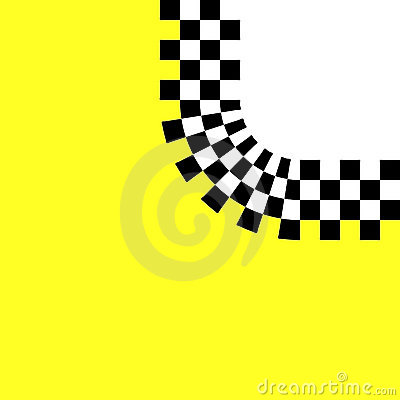 Checkered Retro Curve