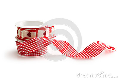 Checkered ribbon