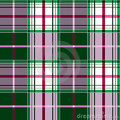 Checkered tartan pattern