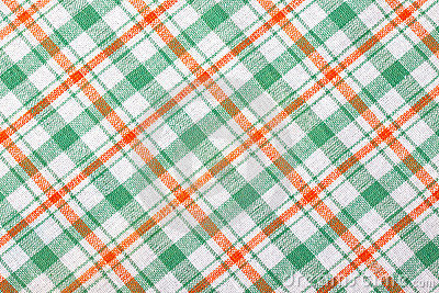 Checkered textile background