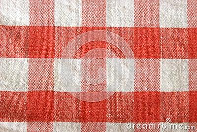 Checkered Tischdecke