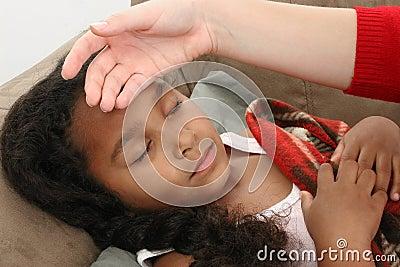 Checking for fever