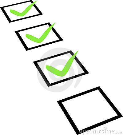 Free Checklist Royalty Free Stock Images - 19769129