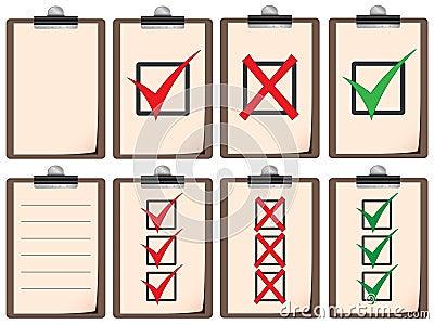 Checklist boards