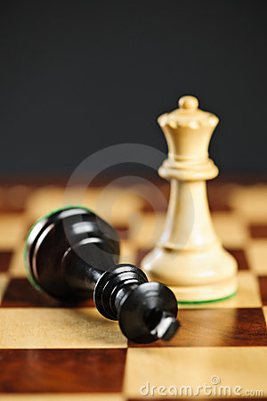 Free Checkmate In Chess Royalty Free Stock Photos - 13992738