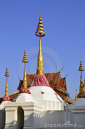 Chedi at Wat Bang Luang
