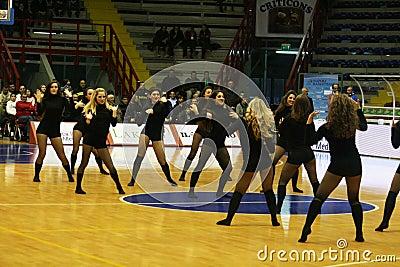 Cheer girls Editorial Photo