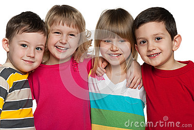 Cheerful children