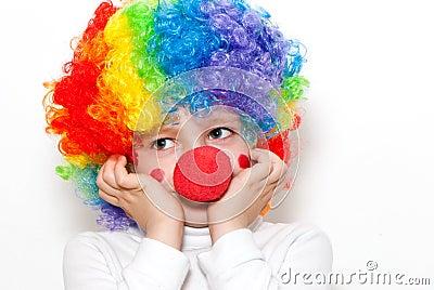 The cheerful clown