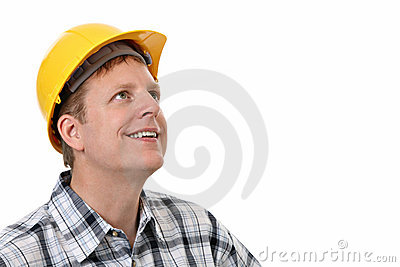 Cheerful Construction Worker