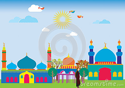 Cheerful Mosque