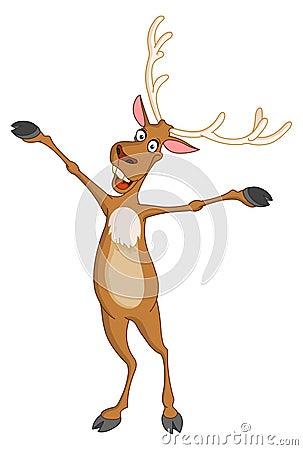 Cheerful Rudolph