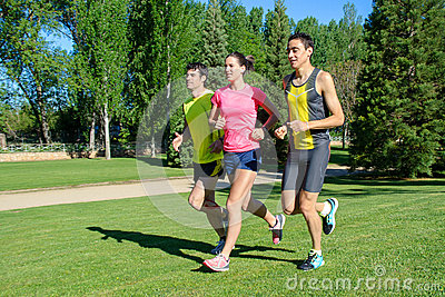 Cheerful Runners
