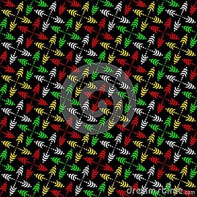 Cheerful seamless pattern.