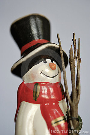 Cheerful Snow Man