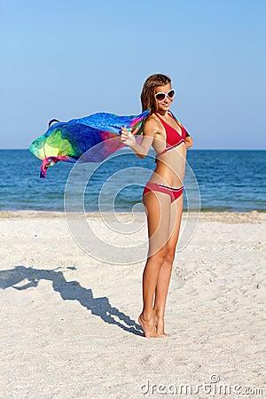 Free Cheerful Teen Girl Royalty Free Stock Image - 33769586
