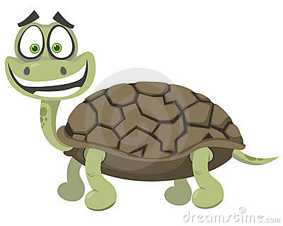 Cheerful turtle