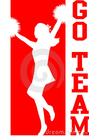 Cheerleader Go Team Red/EPS