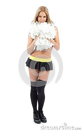 Cheerleader woman dancer