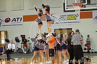 Cheerleaders Editorial Photography