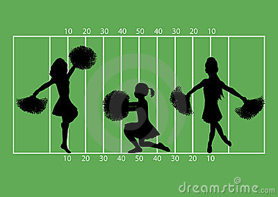Cheerleaders Football 4