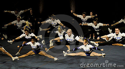 Cheerleading Championship of Finland 2010, Editorial Image