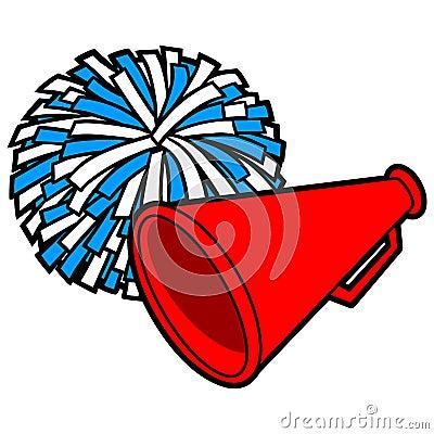 Free Cheerleading Icon Stock Photography - 53745402