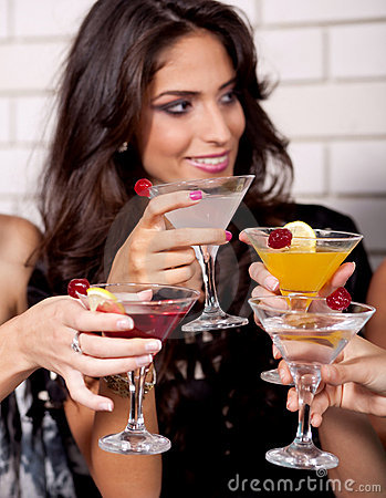 Free Cheers! Royalty Free Stock Photo - 14685705
