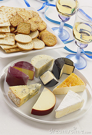 Free Cheese And Crackers Stock Photography - 7675642