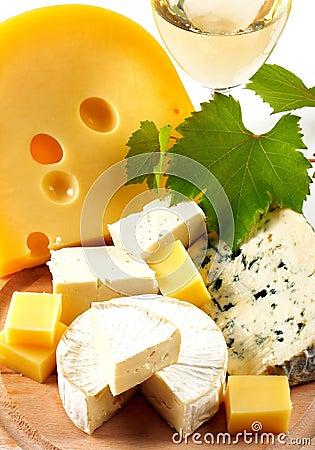 Free Cheese And Wine Stock Photo - 11609560