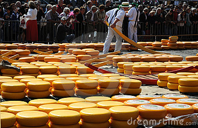 Cheese auction Editorial Stock Image