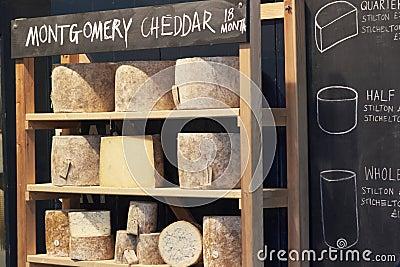 Cheese at Borough Market Editorial Image