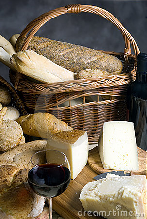Cheese and Bread 2
