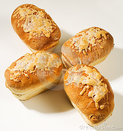 Cheese Bread Loaves