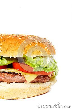 Free Cheese Burger Stock Photo - 1749540