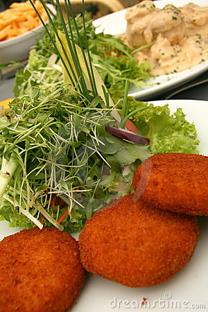 Free Cheese Croquettes Royalty Free Stock Photo - 9232175
