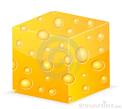 Cheese cube