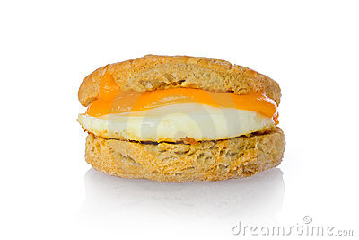 Cheese and Egg Biscuit