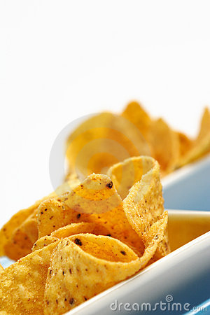 Cheese Flavored Tortilla Chips