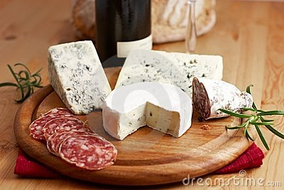 Cheese and French Salami