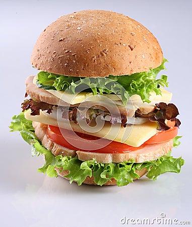Cheese hambuger