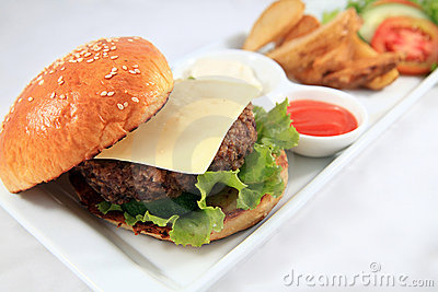 cheese hamburger