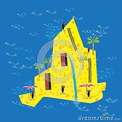 Cheese island