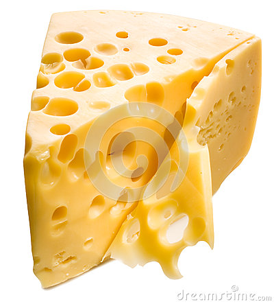 Free Cheese Isolated. Royalty Free Stock Images - 27157969