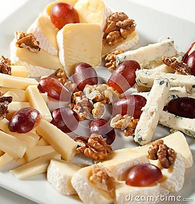 Free Cheese Platter Stock Photo - 23271790